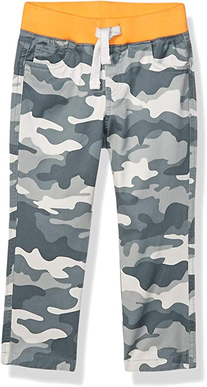 Spotted Zebra Boys Toddler /& Kids Zip Pocket Jogger Pants