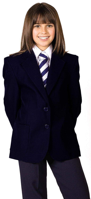 Girl Uniforme Scolaire Blazer Blazer 100% polyester avec revêtement en téflon imperméable pour femme