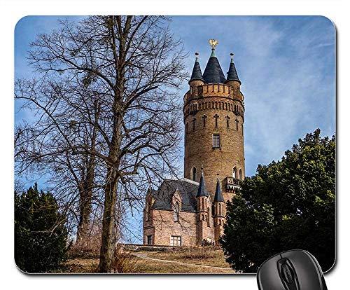 Mouse Pads - Architecture Old Tower Castle Landscape Babelsberg