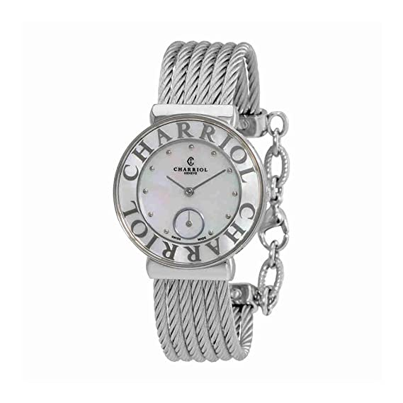 esRelojes St30sc560 019Amazon Tropez Reloj St Charriol Ladies wkPuZiOXT
