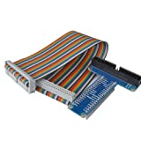 WINGONEER RPi GPIO Breakout Expansion Board + Ribbon Cable for Raspberry Pi 3 2
