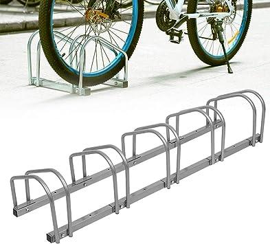 SAILUN Bicicleta Soporte para 5 Bicicletas de Suelo y Pared ...