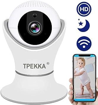 HD 720P Night Vision Wifi Camera Home Security Motion Sensor Pan//Tilt WebCam Hot
