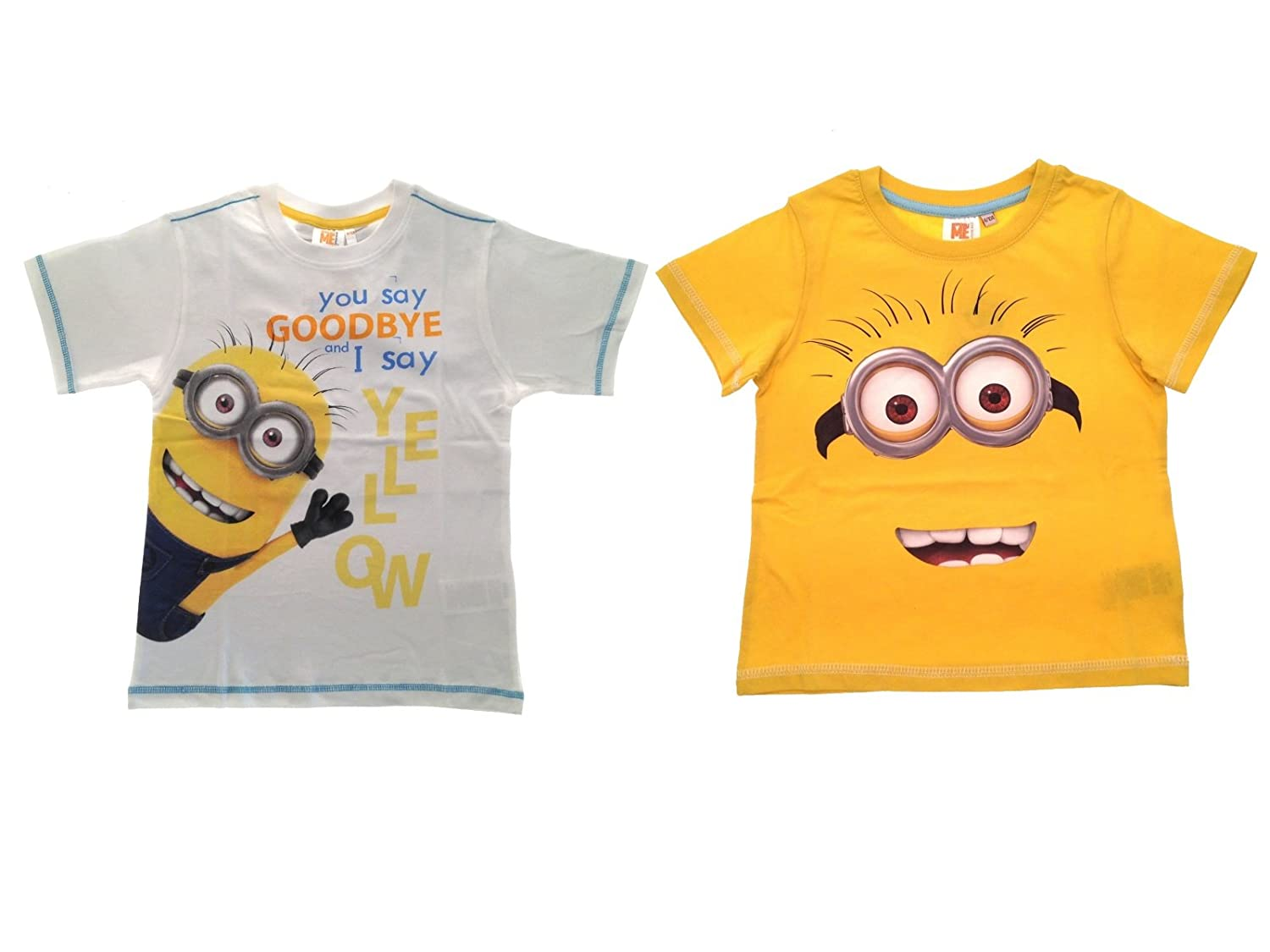 Despicable Me Minions Boys Long Sleeve T-Shirt By BestTrend