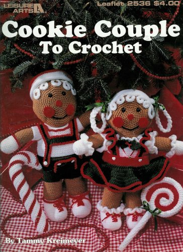 Cookie Couple to Crochet (Leaflet 2536)