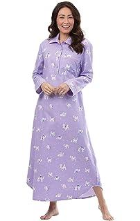 PajamaGram Women s Cotton Flannel Nightgown - Long Flannel Nightgowns for  Women e2e1374a3f
