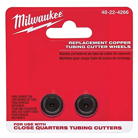 Milwaukee 48-22-4266 2pc Close Quarter Replacement Cutter Wheels New - - Amazon.com