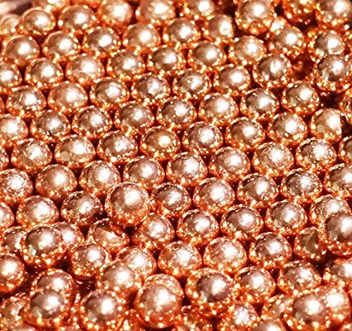 500 ct Copper Plated Steel Metal BBs 4.5mm (.177 (Copper Plated Steel)