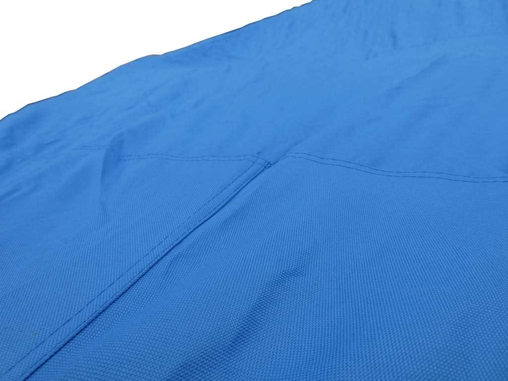 Universelle Bootspersenning 600D wasserdichte blaue Bootsplane mit Seil und Aufbewahrungstasche Gr/ö/ße 427 bis 488cm x 173cm Schutz vor allerlei Umwelteinfl/üssen dank PVC-Beschichtung