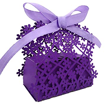 Amazon Womhope Candy Boxes Party Favors Wedding Chocolate Gift