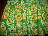 Teenage Muntant Ninja Turtles TMNT cartoon movie fabric curtain topper Valance