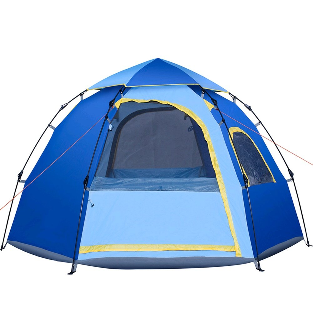 ZHANGP Freien automatische Zelt 5-6 Personen Hexagon Freizeit Camping Supplies