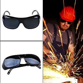 UxradG Gafas de soldar, Gafas Protectoras de Soldador de Ojos, Gafas de Sol de Trabajo: Amazon.es: Hogar