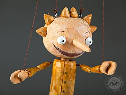 c6485df9a7469 Amazon.com: Pepe – Wooden Puppet by Czech Marionettes: Toys & Games