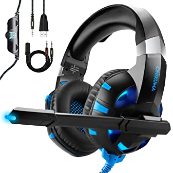 ESEYE Auriculares Gaming para PS4 Xbox One o PC con Micrófono y ...