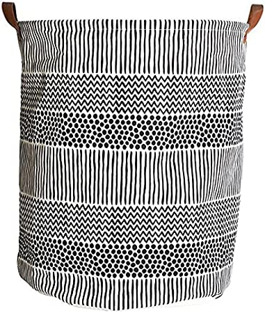 Baby Clothing Laundry Basket Nursery Hamper Collapsible /& Convenient Home Organizer Containers Geometric Face Large Storage Bin Organizer for organizing Baby Toys,Kids Toys