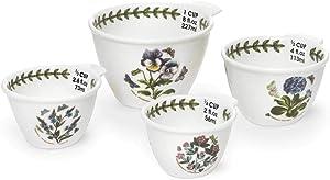 Portmeirion Botanic Garden Set of 4 Measuring Cups