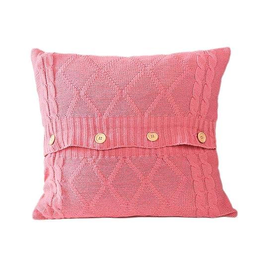 Anna-neek Funda de Almohada Funda de sofá, Moda Punto Throw ...