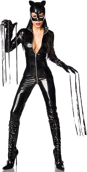 Catwoman Disfraz Mono, 3 Piezas Negro 40: Amazon.es: Ropa y accesorios