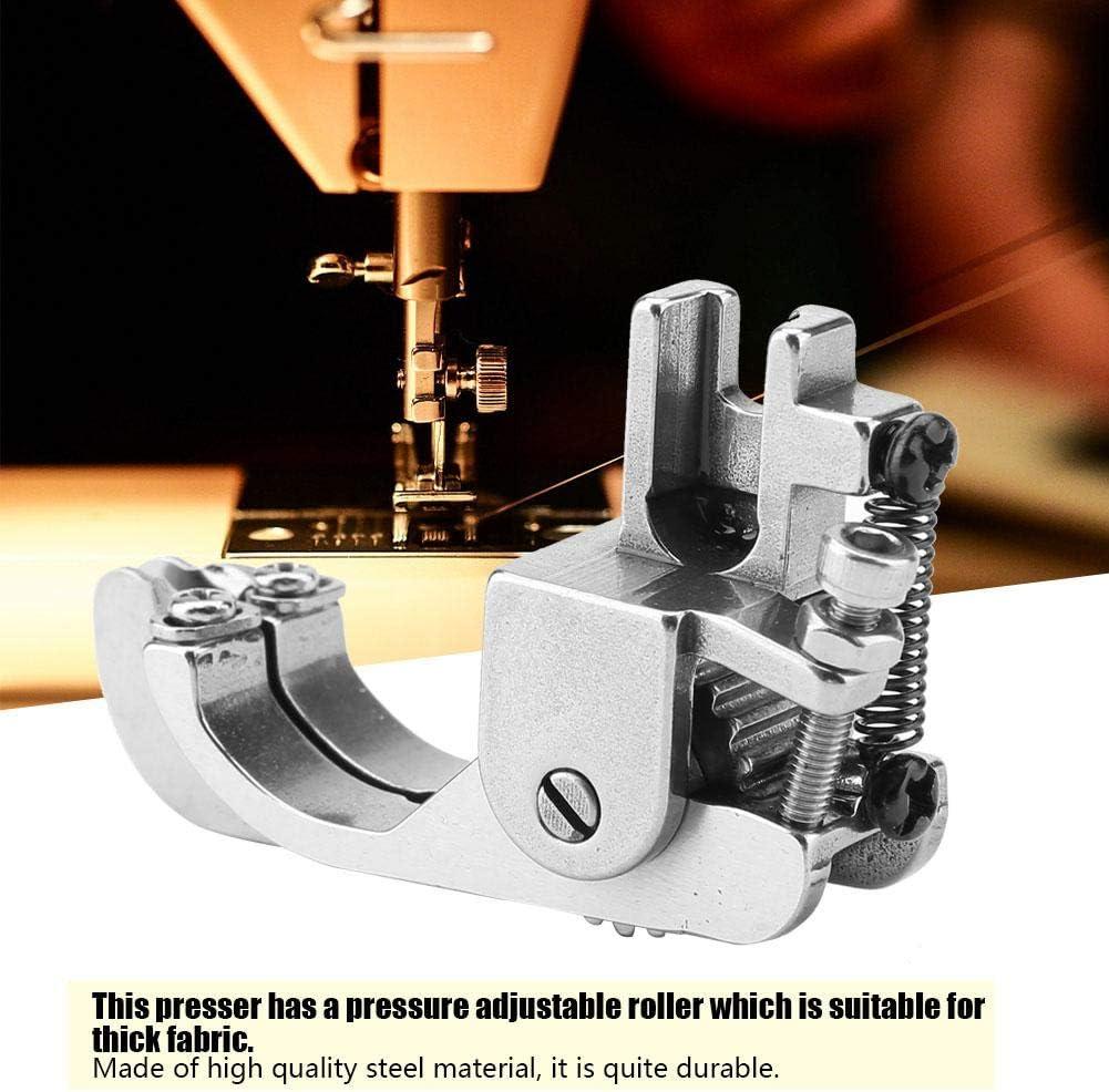 Prensatelas para máquina de coser, prensatelas de rodillo de acero ...