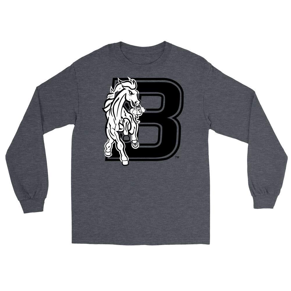 PPBRX002 Mens//Womens Boyfriend Long Sleeve Tee Official NCAA Bronx Community College