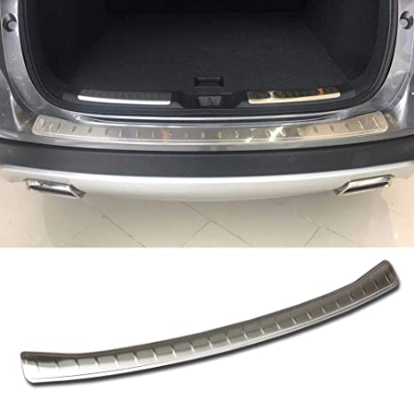 Beautost Fit for Infiniti New QX50 2019 Rear Outside Bumper Sill Plate Guard Cover Trim Stainless Steel