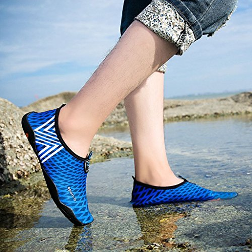 4 Shoes Kids Adults Womens Surf Garden Lake Beach Aqua Quick Eagsouni Barefoot Running Dry Walking for Boating Driving Mens Water Park Swim Sports White Yoga Unisex and Socks qxwwIOPpE