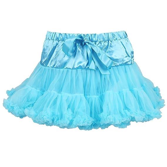 SODIAL(R) Falda de Fiesta de la princesa del Tutu de la gasa para