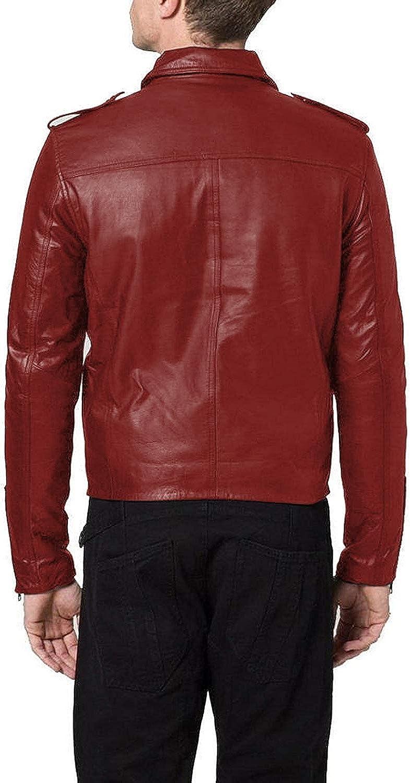 Black, Double Rider Jacket 1501188 Laverapelle Mens Genuine Lambskin Leather Jacket