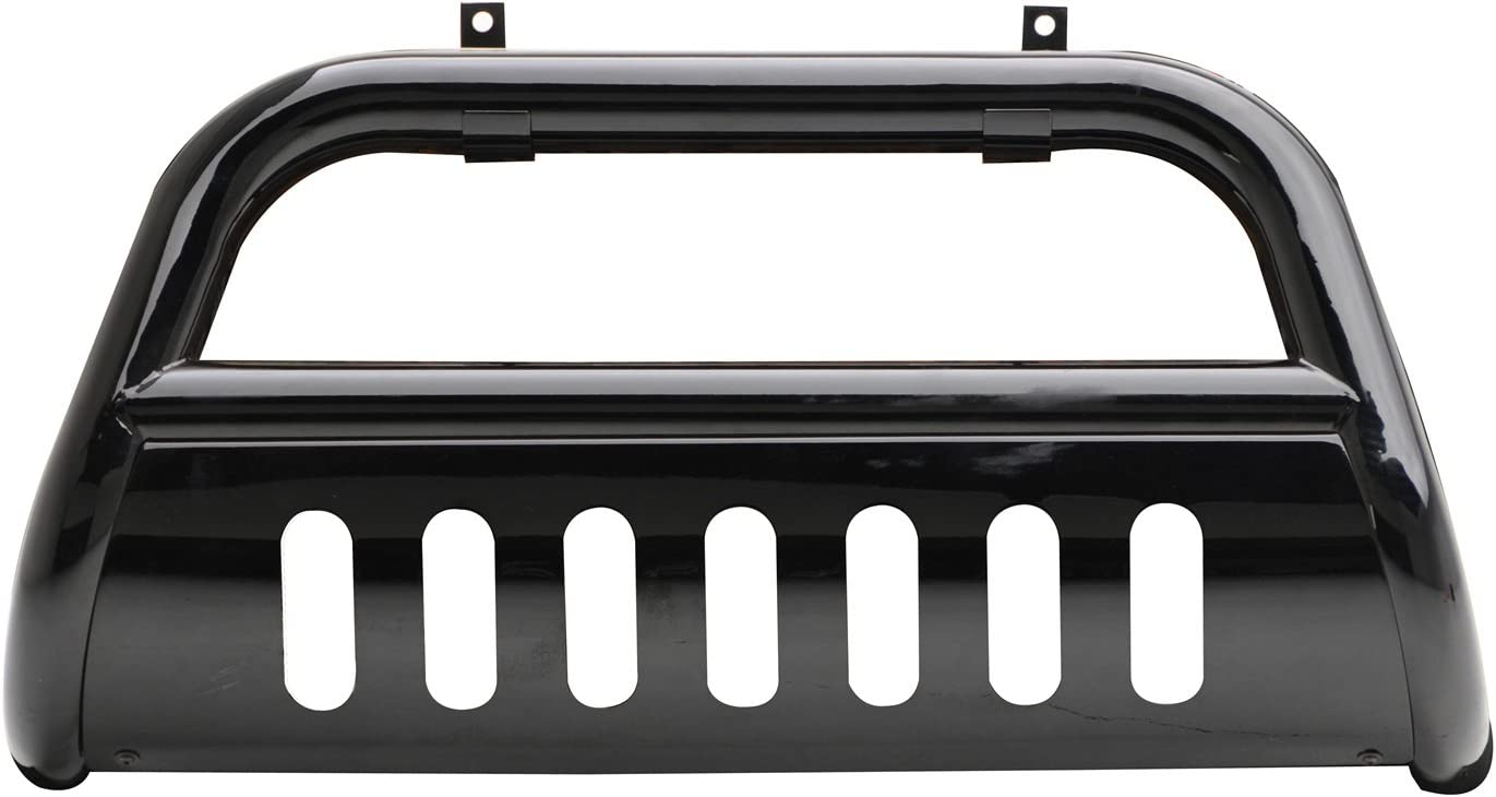 Smittybilt 55115 Gloss Black Grille Saver