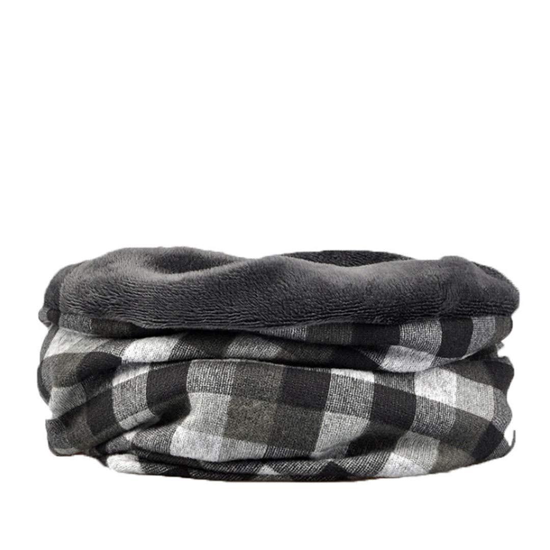 Multi Use Collar Neck Warmer Ring Scarf Women Or Men Winter Scarves