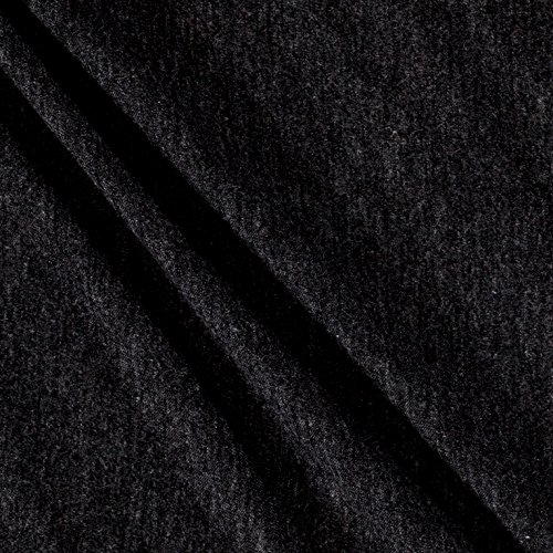 (Lavitex Rayon Spandex Jersey Knit Fabric, Solid Charcoal, Fabric by the yard)