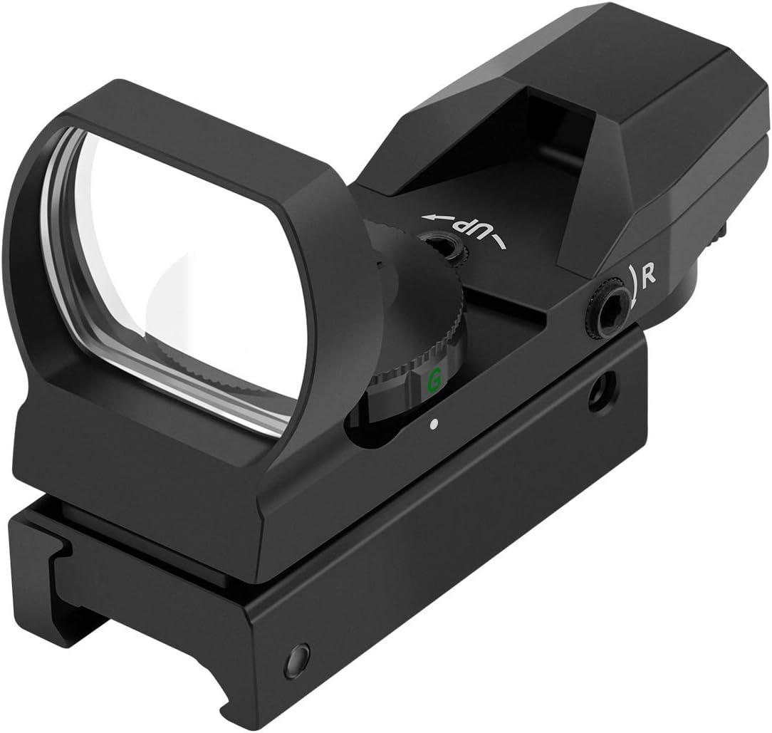 Amazon.com: Feyachi RS-29 Reflex Sight, Red & Green Illuminated 4 ...