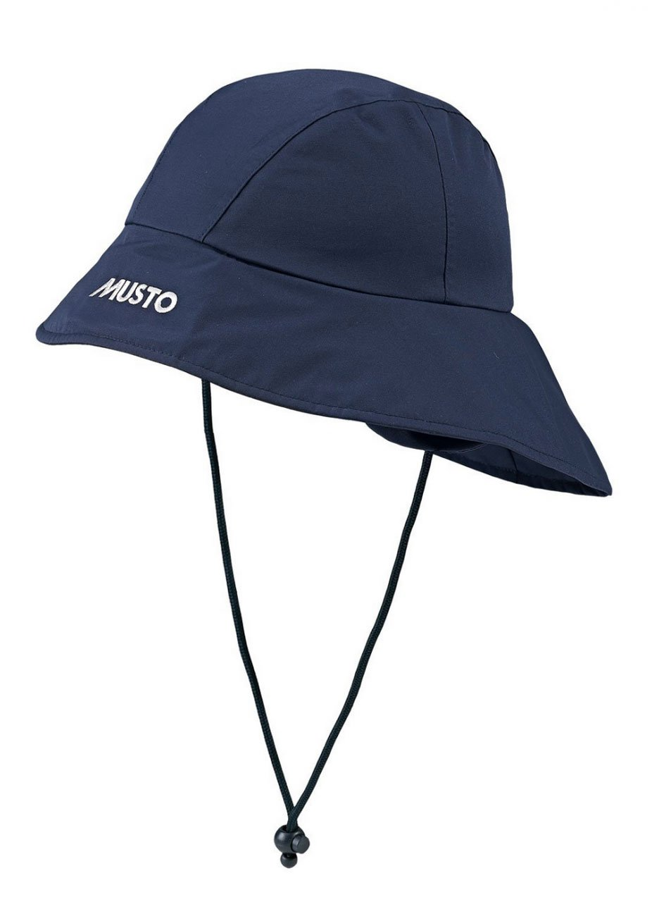 Musto SouWester Hat in Navy Blue AS0271.