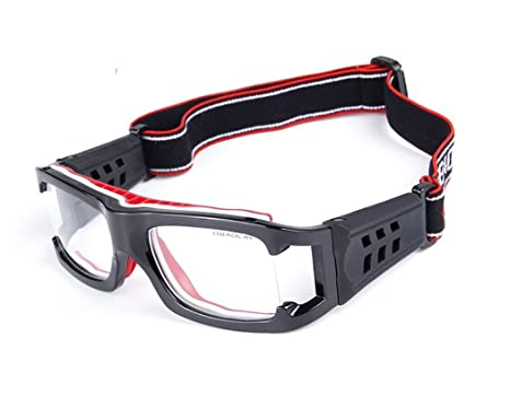2ed32877357 Wonzone Sports Goggles Safty Glasses Eyewear For Adults With Adjustable  Strap for Basketball Football Volleyball Hockey