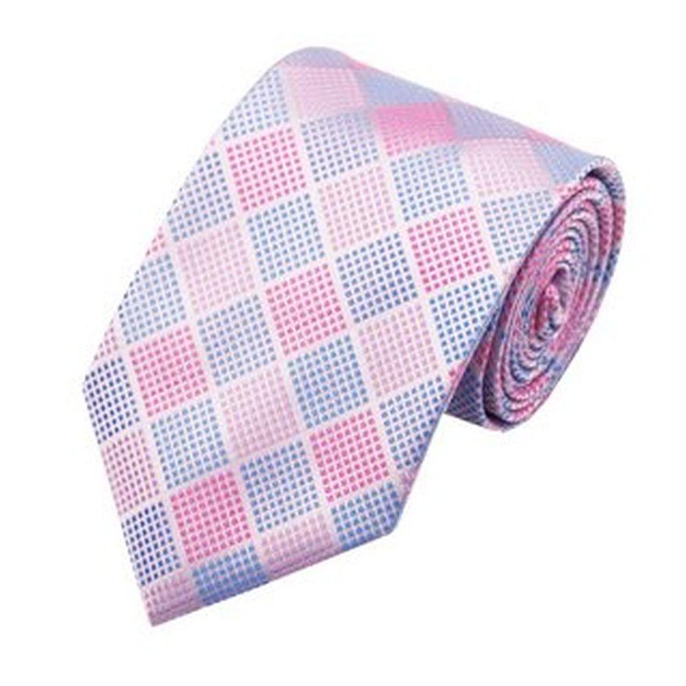 Jason&Vogue - Corbata - Cuadrados - para hombre rosa rosa pastel ...