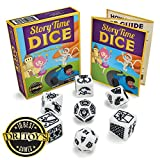 Imagination Generation Story Time Dice, Create Your Own Adventure Storytelling Game – Includes 7...