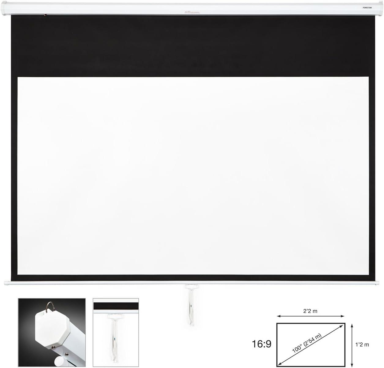 FONESTAR PPMA-16100-BA 2200 x 1200mm pizarrón Blanco - Accesorio ...