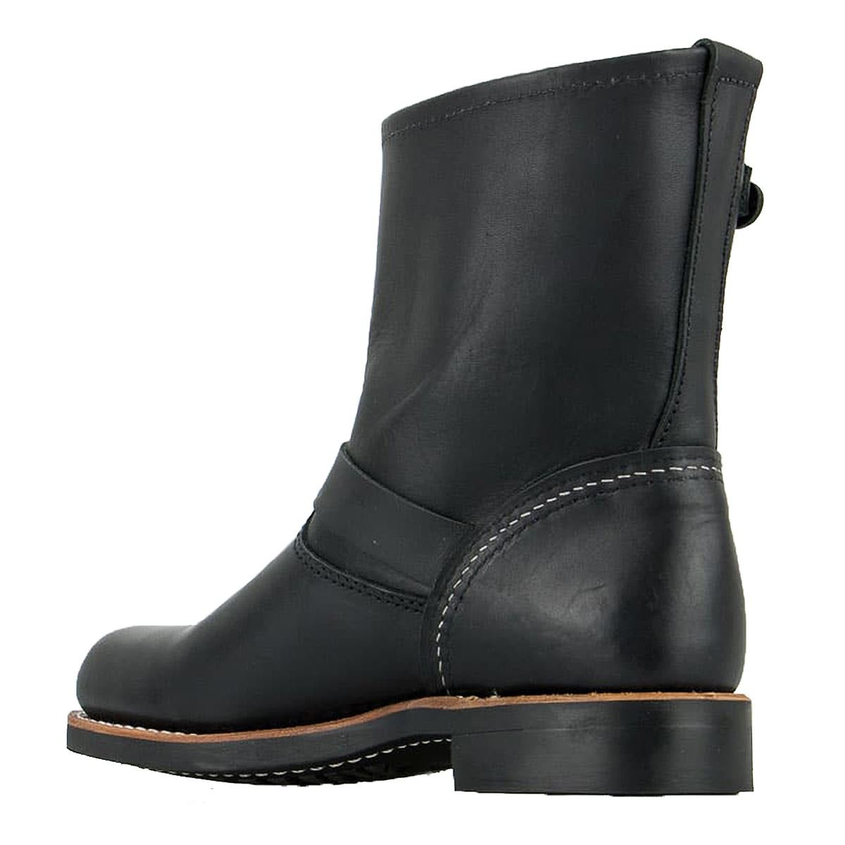 Rot damen Wing damen Rot Engineer 3354 schwarz Leather Stiefel 38 EU 9141ab