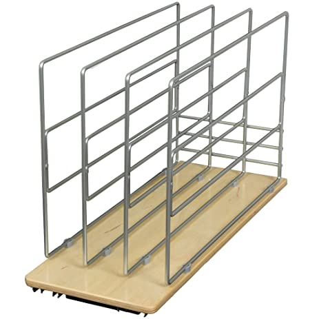 Amazon.com: Knape & Vogt TDRO-FNW-9 in. Roll Out Tray Divider ...
