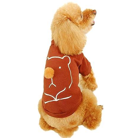 LyHoma Ropa Perros Pequeños Ropa de Perrito Camisas Perrito ...
