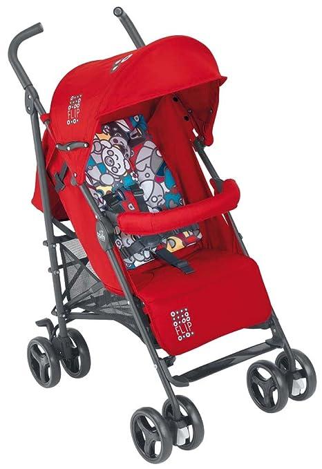 Cam Il Mondo del Bambino Silla de paseo modelo Flip ART847 Con tapa Rosso/Stampa