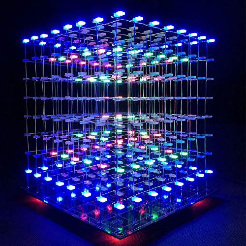 Led Light Cube 8X8X8 Kit in US - 5