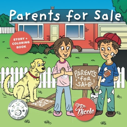 Parents for Sale: Story and Coloring Book