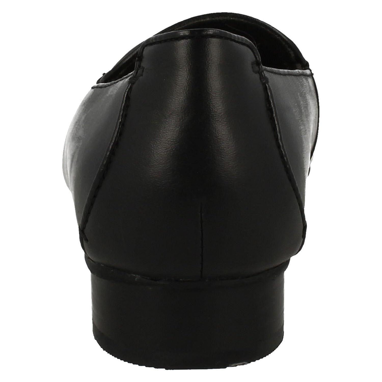 Clarks Janey Janey Janey Mae Damen Stiefel Mehrfarbig - schwarz Leather - Größe  42 EU E 691ce6