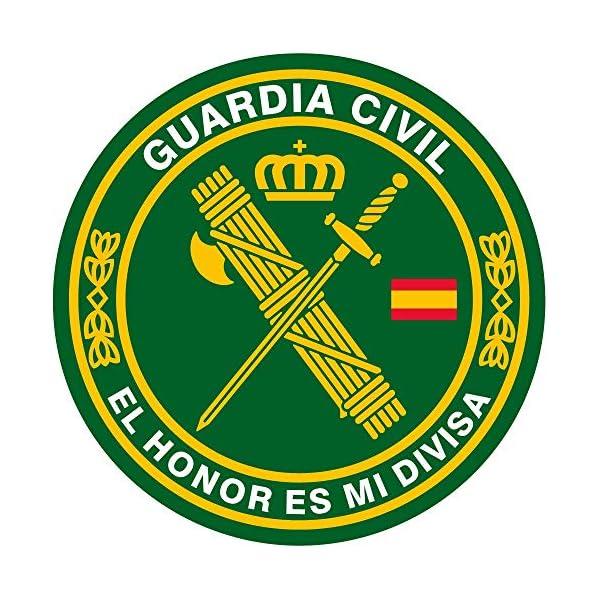 Artimagen Pegatina círculo Guardia Civil El Honor es mi divisa ø 70 mm/ud. 2