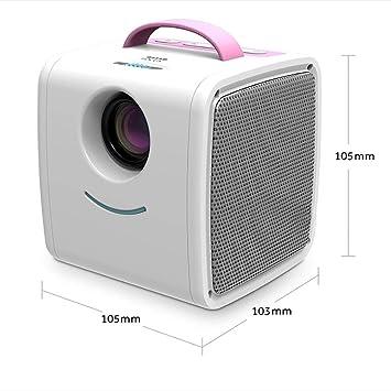 Amazon.com: WHQ Mini proyector de 700 lúmenes para niños de ...