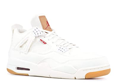 on sale 96119 93a47 Air Jordan 4 Retro Levis NRG A02571 100 White (9)