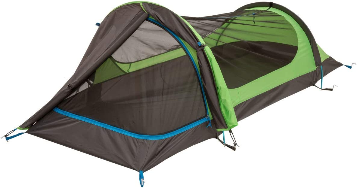 Eureka Solitaire AL 1 Person, 3 Season, Camping and Backpacking Tent