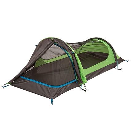 2a2831fd6e Amazon.com : Eureka! Solitaire AL One-Person, Three-Season Backpacking Tent  : Sports & Outdoors